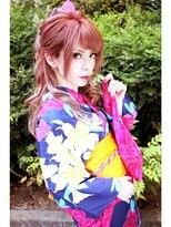 ☆CAPSULE☆ チェリーピンク+和モダンアレンジ