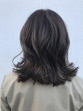 ポッシュ 原宿店(HAIR&MAKE POSH)アッシュグレージュ ブリーチハイライト
