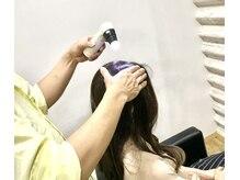 アンジー(&g)の雰囲気(マイクロスコープで毛髪の健康診断を行いヘアケアのアドバイスも)