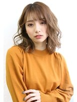 Wカラー☆大人可愛いエアリーミューズ×カット【Laetus】