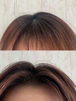 マーブルヘアラボ(marble Hair Lab.)の写真/根元からふわっと立ち上がるパーマで、こなれ感のある最旬スタイルに*今話題の韓国風スタイルにも◎