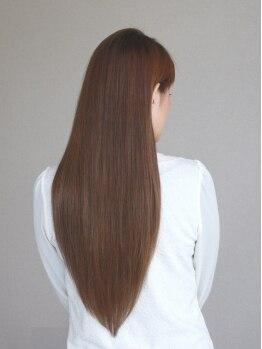 アディー(Addie)の写真/TOKIOインカラミトリートメントでダメージ補修+髪質改善☆自分の髪が好きになる感動の仕上がりに☆
