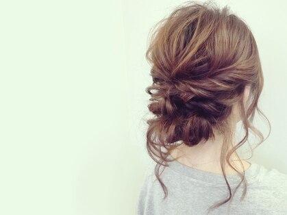 ヘアーメイクアンドネイル エフプラス(hairmake&nail F PLUS)の写真