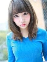 アグ ヘアー ドレス 喜久田店(Agu hair dress)美フォルム☆大人可愛いセミロング