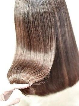 ヘアーメイクパーソナルの写真/13種類のトリートメントをお客様によって使い分ける!!充実の10工程であなたの理想の髪質になれます。