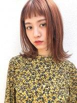 ミィー(mee.)【mee.】イシガミ 前髪カタログココアブラウン