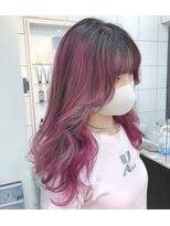 シャチュー(SHACHU)3種類のピンクのブレンドカラー