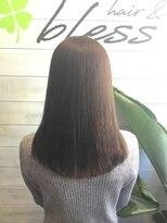 ブレス ヘアアンドスパ 湘南台(bless hair spa)大人 艶髪 美フォルムミディアム 7歳若く見せます。