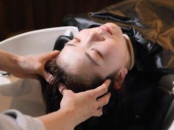 フィップス 四条烏丸(fippce)の写真/悩み/頭皮状態/髪質に応じたオーダーメイド型ヘッドスパが自慢★あなただけのプログラムで美髪を育みます。