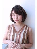 ヘアメイク シュシュ(Hair make chou chou)大人かわいいピンクベージュ小顔クールショートボブルフ20代30代