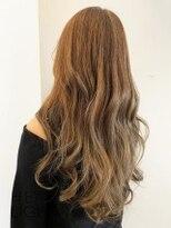 フローレス バイ ヘッドライト 三鷹店(hair flores by HEADLIGHT)ベージュ×ゆるカール_SP20210226