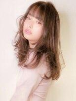 シマ セブン ギンザ(SHIMA SEVEN GINZA)大人sweet hair ×ミルクティーピンクベージュ