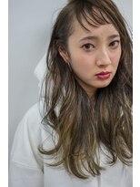 ヴィークス ヘア(vicus hair)グレージュ×ハイライトグラデーション by 井上瑛絵
