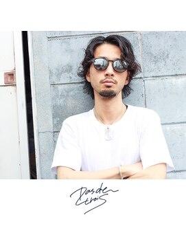 パドトロワ(Pas de trois)新潟×メンズ×ミディアムムービングスタイル