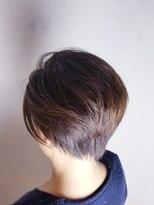 フレア ヘア サロン(FLEAR hair salon)かきあげショートボブ☆大人ツーブロック