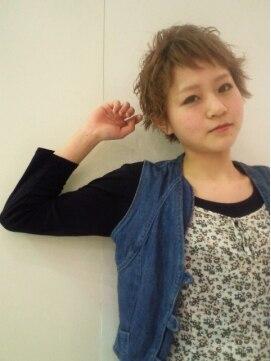 ミエルヘアーアンドスパ(miel hair&spa)◆miel◆ 外国人風ベビーショート☆