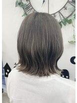 ヘアーサロン エール 原宿(hair salon ailes)(ailes 原宿)style462 外ハネスモーキー