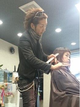 ヘアコンシェル ミューオン(Hair conciel μ+)の写真/[覚王山]一流のスタッフによる確かな技術に定評あり◎幅広い世代から支持多数!