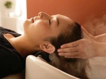 美容室ティーライズグループ 美容室ベルノ VERNOの写真/最高級スパ『ESTESSiMO-エステシモ-』導入!頭皮の状態をカメラで診断しお悩み解決☆健康的な地肌に!!