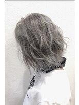 ソース ヘア アトリエ 京橋(Source hair atelier)【SOURCE】ホワイティベージュ