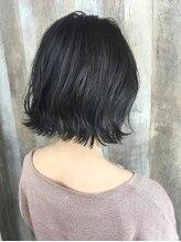 ヘアデザイン ファブロ(hair design FABRO.)ショートレイヤーボブ×モノクローム♪