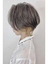 ソース ヘア アトリエ 京橋(Source hair atelier)【SOURCE】ハンサムショートインナーカラー