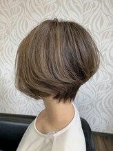 ヘアラウンジ チェルシー(Hair lounge CHELSEA)スタイリッシュショートボブ