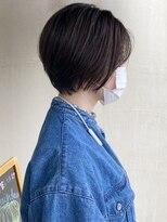 ビール 今泉店(BEER)【BEER 山崎雄太朗】髪質改善縮毛矯正×前下がりショートヘア