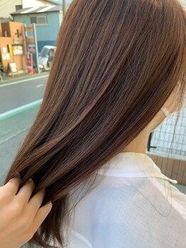 コージー リゾート(cozy resort by ANT'S)の写真/髪に悩みが増え始める大人女性から圧倒的支持。何年先もハリコシある綺麗な髪でいるためのケアカラー。