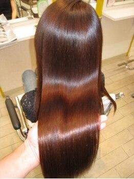 エムアンドスマート 千葉店 MandSMARTの写真/リピート率90%!!クセ毛を知り尽くしたサロンだからこそできる低ダメージを追求した最高の仕上が