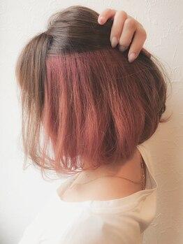 ヘアー ガーデン ロータス Hair Garden Lotusの写真/『私らしさを大切に…★』ナチュラル派さんも個性派さんもきっと満足する♪カラーのことならお任せ下さい!