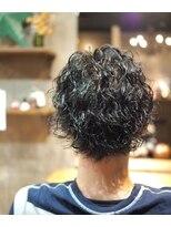 ノエル ヘアー アトリエ(Noele hair atelier)Noele×スパイラルパーマ×メンズショート