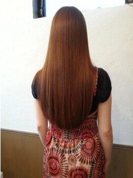 エンヴィー 町田(ENVY)の写真/≪ENVY≫の最新縮毛矯正は、1人1人の髪質や骨格に合わせて施術!まるで素髪のようにナチュラルな仕上がり☆