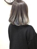 【lamp池袋オザキ】グラデーション/インナーカラー/ボブ