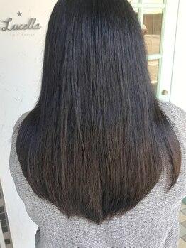 ルチェラ(Lucella)の写真/【最高級TR【Aujua(オージュア)】導入Salon☆】貴方の髪質に合わせご提案♪感動続く美髪へ導いてくれる―。