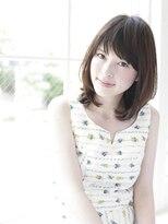 ウル(HOULe)【30歳からの大人可愛いヘア】大人ひし形シルエットミディ☆