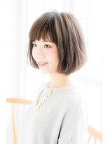 【curio尾山台】 30代40代 モード3Dカラー × ミニマムボブ