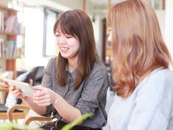 リリー(Liliy)の写真/【半個室空間/月曜営業/20時迄受付】美髪に導く髪質改善ヘアエステ/韓国Styleのオーダー多数♪まつエクもOK