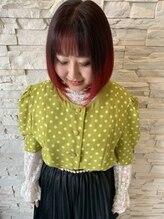 トータルビューティサロン シェリ(total beauty salon cheri)グラデーションカラー