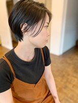 ヘアーアイスカルテット(HAIR ICI QUARTET)ショート × ハンサム