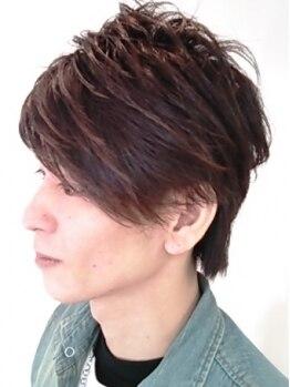 ヘアーシップ ファーロ(Hair ship FARO)の写真/男の魅力を上げる好印象スタイルならFAROへ!髪はもちろん髭眉のお手入れも任せてみてね☆