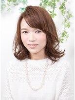 オーガニックサロン フェイス 梅田店(organic salon face)外ハネ大人ミディ