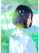 オゥルージュ(Au-rouge noma)【aurouge noma 石井美紗紀】大人きれいな小顔ボブ