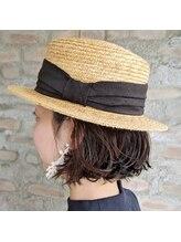 ルプティプランス(Le Petit Prince)カンカン帽×ボブ