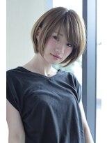 《Uri/二子玉川》30代・40代人気 ひし形小顔×大人ショート
