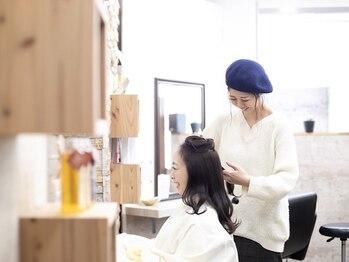 インフォーマル(Informal)の写真/【中崎町・梅田】ハイキャリアのスタイリストがマンツーマンで施術を担当◎髪のお悩みも気軽に相談できる♪
