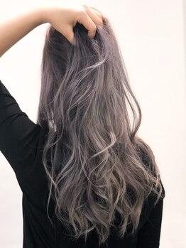 ヘアードレスアップラグゼ(Hair Dressup LUXE)の写真/イルミナ・THROW・アディクシー等、選び抜かれた全8種類以上の薬剤からなりたい色味をカスタムオーダー★