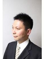 ビジネスモダンショート【御茶ノ水】<理容室/メンズ/ショート>