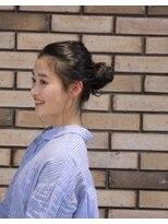 バルベストーキョー(BARBES TOKYO)【BERBES 和泉佳奈】ツヤ髪ナチュラルスタイル