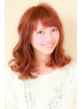 レイフィールド 静岡駅前店誰にも似合うふんわりパーマ+チョコレートピンクブラウン♪